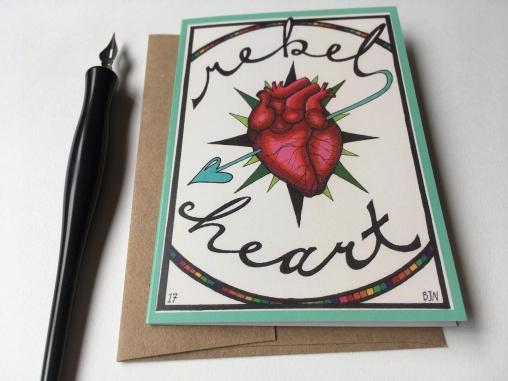 rebel heart card